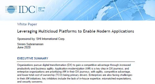 Leveraging Multicloud Platforms to Enable Modern Applications