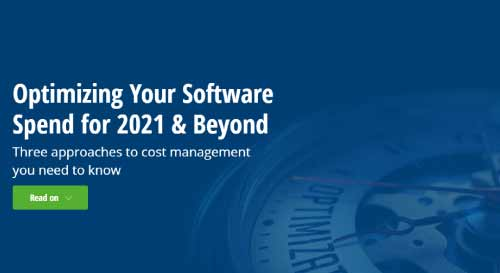 Optimizing Your Software Spend for 2021 & Beyond