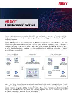 ABBYY FineReader Server PDF Thumbnail