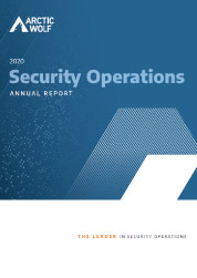 Security Operations Annual Report 2020