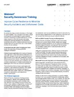 Security Awareness - Webroot Security Awareness Training DS Thumbnail