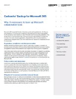 Cloud Solutions - Carbonite Why Microsoft 365 DS Thumbnail