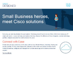 Cisco Designed Infographic Thumbnail