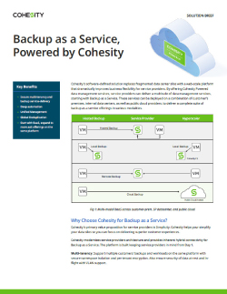 Backup as a Service Thumbnail