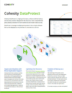 DataProtect Data Sheet Thumbnail