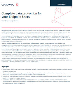 Complete data protection for your Endpoint Users Thumbnail
