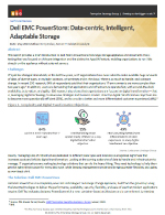 Dell EMC PowerStore: Data-centric, Intelligent, Adaptable Storage Thumbnail
