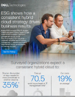 ESG shows how a consistent hybrid cloud strategy drives business results Thumbnail