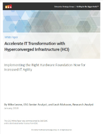 CI/HCI Accelerate IT transformation with hyperconverged infrastructure Thumbnail
