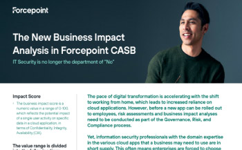 CASB Business Impact Analysis (BIA) Overview Thumbnail