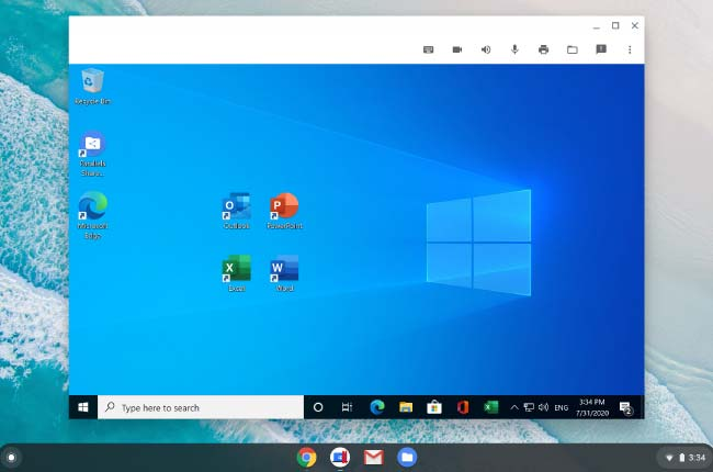 Run Windows App with Parallels