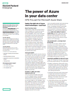 The power of Azure in your data center Thumbnail