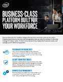Business-Class Platform Brief