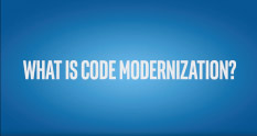 What is code modernization Thumbnail