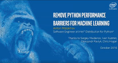 Remove Python performance barriers Image
