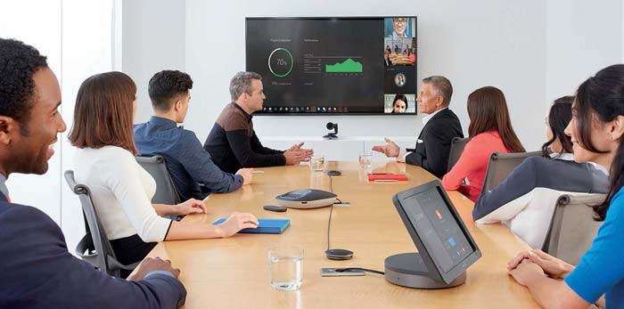 Large Meeting using SmartDock