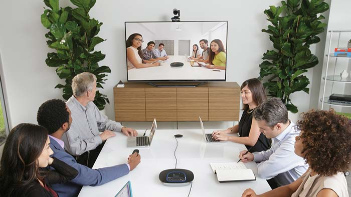 Meeting Room using GROUP conferencing system