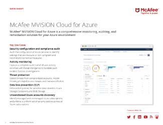 MVISION Cloud for Azure