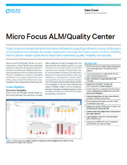 Micro Focus ALM/Quality Center Image