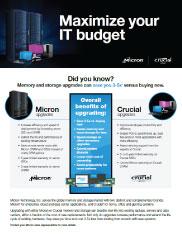 Maximize your IT Budget Thumbnail