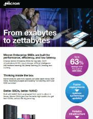 Micron Enterprise SSD Flyer Thumbnail