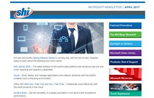 SHI Microsoft Newslette Thumbnail