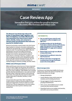 Case Review App
