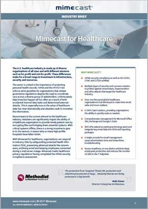 Mimecast for Healthcare