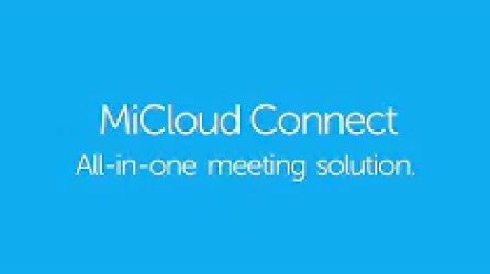 MiCloud Connect Meetings Thumbnail