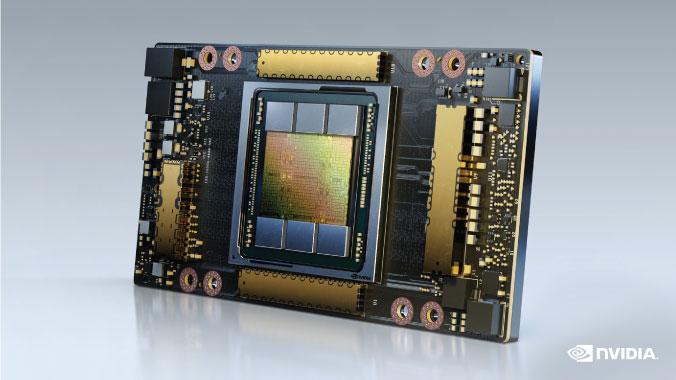A100 Tensor Core GPU Image