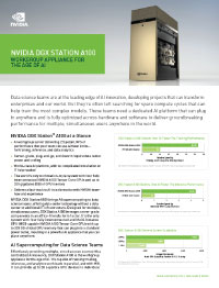 NVIDIA DGX Station A100 Solution Brief Thumbnail
