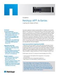 NetApp Aff A-Series Datasheet Thumbnail