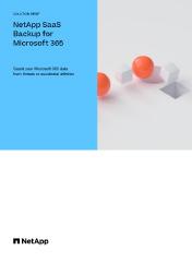 NetApp SaaS Backup for Microsoft Office 365 Image