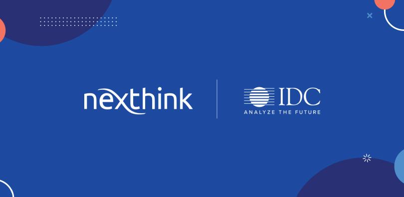 Nexthink IDC Report Cover Image