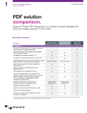 Power PDF Advanced 3 vs. Adobe Acrobat Standard DC  Thumbnail