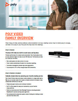 Polycom Group Video Cameras Portfolio Image
