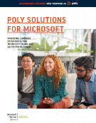 Polycom Solutions for Microsoft Image