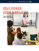 Polycom Solutions for Zoom Image