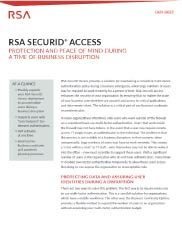 RSA SecurID Access Image