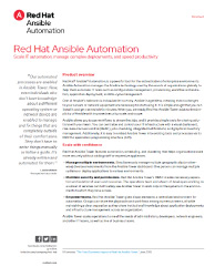 Red Hat Ansible Automation Thumbnail