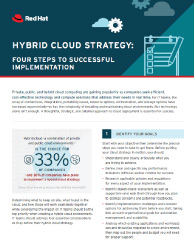 Hybrid Cloud Strategy Thumbnail
