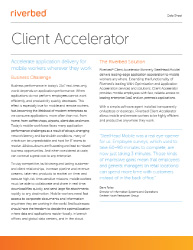 Client Accelerator Thumb