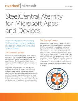 SteelCentral Aternity Thumbnail