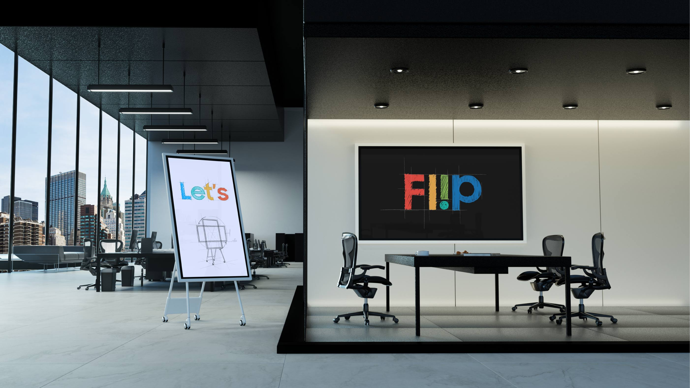 Flip201 Key Visual Graphic
