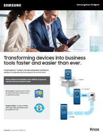 Samsung Knox Configure Thumbnail