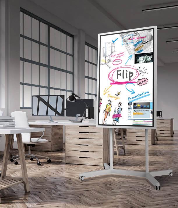 Flip presentation Graphic