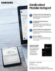 Phone as Mobile Hot spot Scanning Solution  Thumbnail