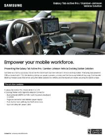 Galaxy Tab Active Pro / Gamber-Johnson Vehicle Solution Thumbnail