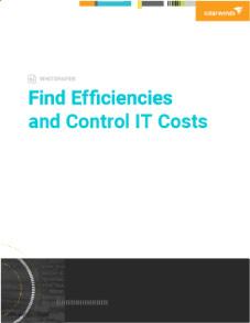 Find Efficiencies and Control IT Costs Image