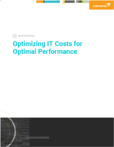 Optimizing IT Costs for Optimal Performance Image